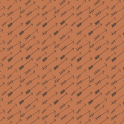 Orange Arrow Fabric | Art Gallery Adventure Bark Fabric