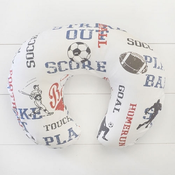 Sports Nursing Pillow Cover | All Star Crib Collection