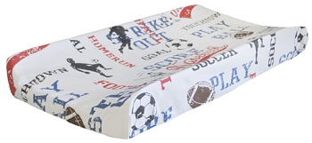 Sports Changing Pad Cover | All Star Crib Collection