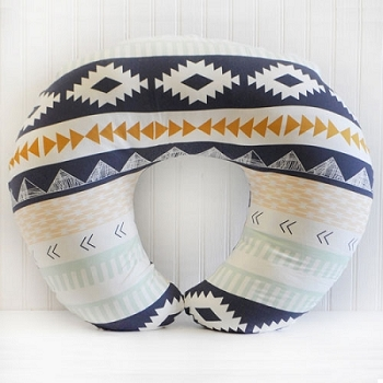 Tribal Nursing Pillow Covers | Arid Horizon Crib Collection