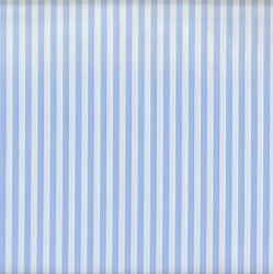 Spechler-Vogel Wide Pima Cotton Stripe #77 | Baby Blue Stripe
