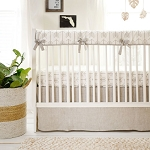 Arrow Crib Rail Guard Bedding Set | Be Brave Crib Collection