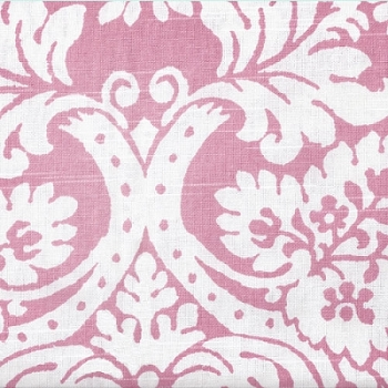 Pink Damask Fabric | Bloomin Damask in Pink
