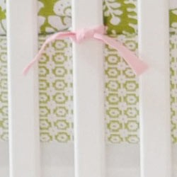 Bojangle in Green Crib Sheet  |  Bloom in Apple Collection