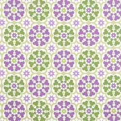 Purple & Green Floral | Blossom in Purple