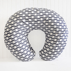 Navy Tribal Nursing Pillow Covers | Tomahawk Crib Collection