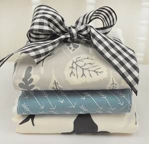 Woodland Burp Cloths |Buck Forest Night Crib Collection