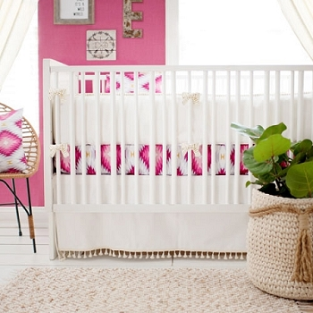 Boho Girl Baby Bedding | Wander in Pink Collection