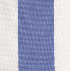Wide Blue Stripe | Cabana Stripe in Blue Harbor