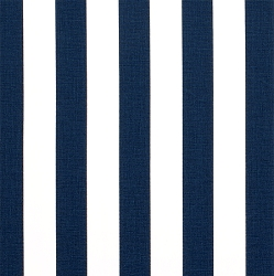Premier Prints Canopy Premier Navy | Cabana Stripe in Navy