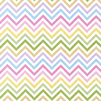 Multi Color Chevron Fabric | Robert Kaufman Remix Spring