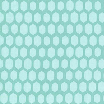 Aqua  Changing Pad Cover | Cobblestone in Ocean
