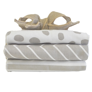 Dalmatian Spots Burp Cloth Set