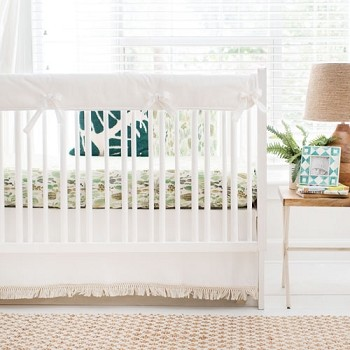 Cactus Crib Bedding | Desert Dawn in Grass Collection
