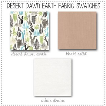 Desert Dawn in Earth Collection Fabric Swatches Only