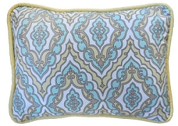 Damask Throw Pillow | Dreamweaver Crib Collection