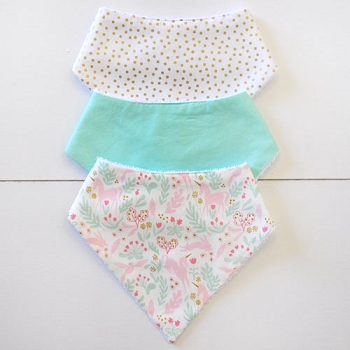 Baby Bandana Bib Set | Magic Folk Collection