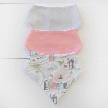 Baby Bandana Bib Set | In The City Collection