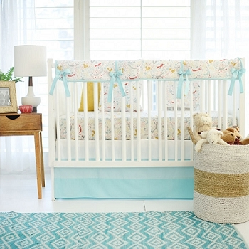 Woodland Crib Rail Guard | Faraway Forest Crib Collection