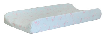 Mint Changing Pad Cover | Flamingo Baby Collection