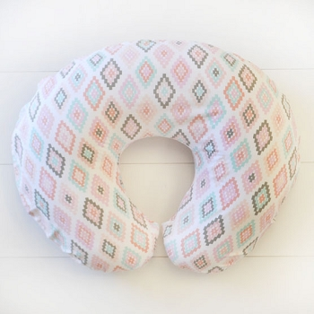 Pastel Aztec Nursing Pillow Slipcover | Flight Arrow Crib Collection