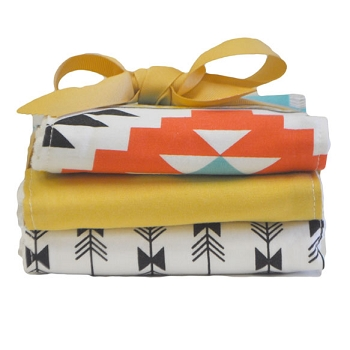 Tribal Burp Cloth Set | Four Corners Crib Collection