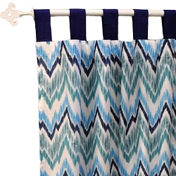 Full Moon Chevron Curtain Panels