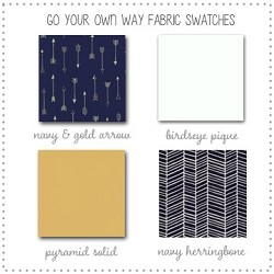 Go Your Own Way Collection Fabric Swatches Only
