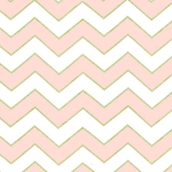 Michael Miller Chic Chevron Pearlized in Confection | Glitter Chevron in Pink