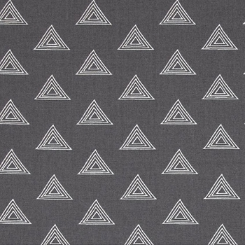 Art Gallery Prisma Elements Matte Zirconia | Grey Triangle Fabric