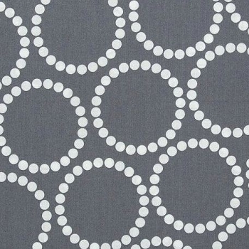 Gray Fabric | Andover Fabrics Pearl Bracelets by Lizzy House