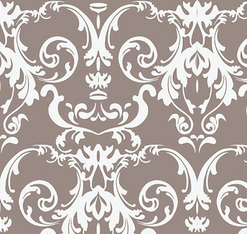 Gray Damask Fabric | Riley Blake Halle