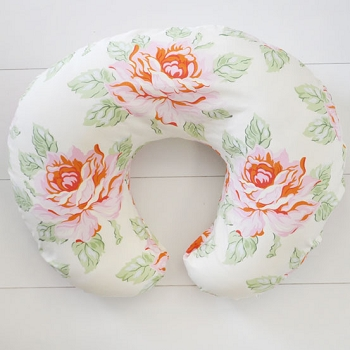 Rose Floral Nursing Pillow Cover | Hello Roses Crib Collection