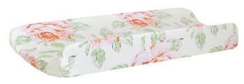 Pink Rose Changing Pad Cover | Hello Roses Crib Collection