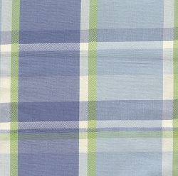 Lake Plaid Changing Pad Cover