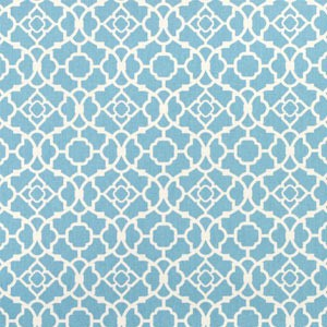 Blue Changing Pad Cover | Blue Lattice