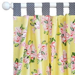 Lemon Drop Curtain Panels