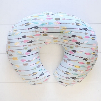 Feather & Arrow Nursing Pillow Covers | Little Explorer in Pink Collection