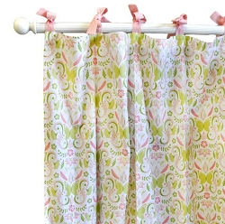 Love Song Curtain Panels
