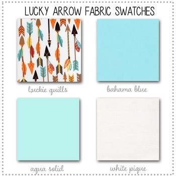 Lucky Arrow Collection Fabric Swatches Only