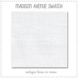 Madison Avenue Bedding Collection Fabric Swatches Only