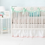 Unicorn Nursery Set | Magic Folk in Aqua Collection