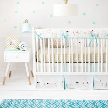 Unisex Rail Guard Nursery Set | Magic Parade Collection