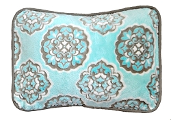Aqua Throw Pillow |Ocean Avenue Crib Collection