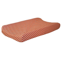 Orange Changing Pad Cover | Orange Crush Crib Collection
