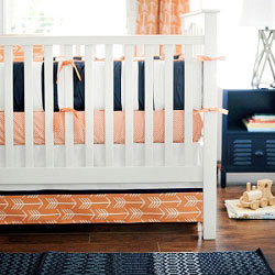 Arrow Crib Bedding  |  Out and About Collection
