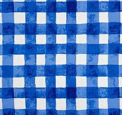 Blue Gingham | Michael Miller Painted Gingham BBER