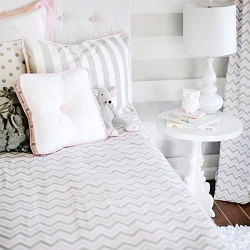 Peace, Love & Pink Bedding Sets
