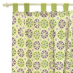 Pedal Pusher in Lavender Curtain Panels