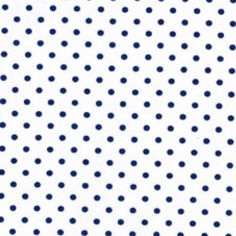 FABRIC - Petite Dots in Navy